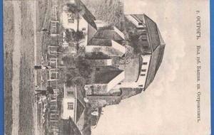 Антикварная открытка Острог. Башня кн. Острожских