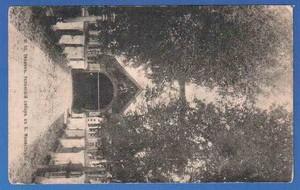 Старинная открытка Успенский собор в Большом Монастыре в Тихвине. Изд. магазина Грейвер
