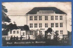 Ковель, Волынская губерния. Школа имени Moscickiego.