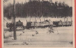 Канал проходил через лесные чащи Карелии