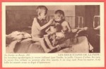 Открытка голодающие дети