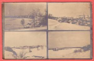 Фотооткрытка Красный холм