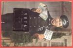 Старинная открытка Привет из Читы