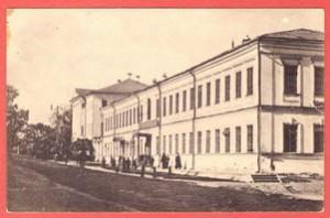 Старинная открытка Виды города Вязников № 1.