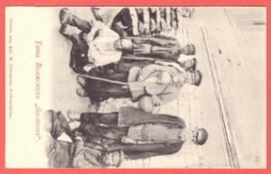 Открытка № 53 Типы волжских «босяков»