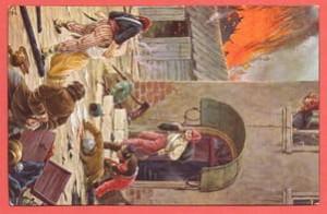 Почтовая карточка Мародеры