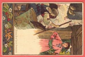 Баба Яга, сказка Афанасьева.