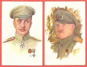Генералы Лохвицкий и Нечволодов